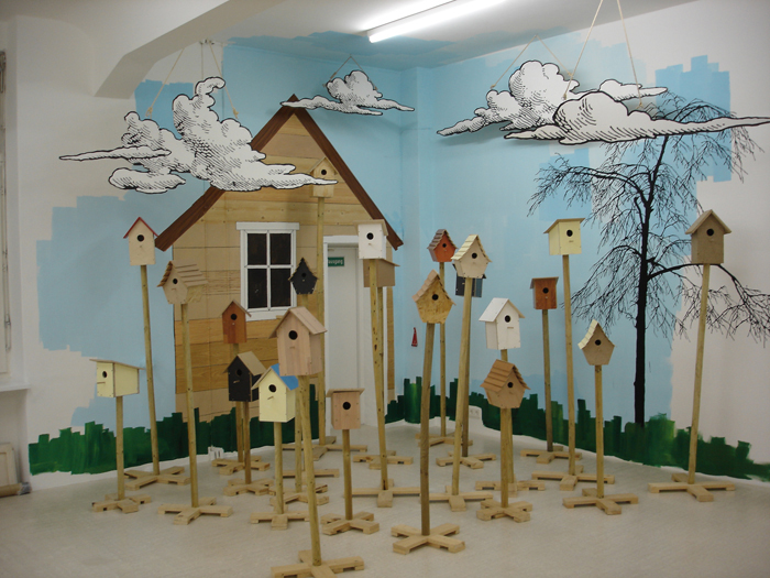 Greetings, installation view, 2009